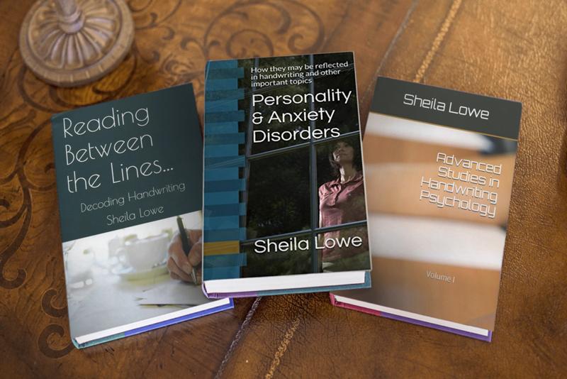 3 Handwriting Psychology books